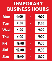 Temp business hours