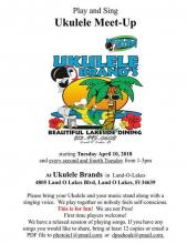 Ukulele Meet Up - Play & Sing